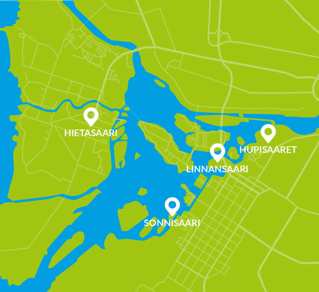 Oulun keskustan läheisyydessä olevat retkikohteet