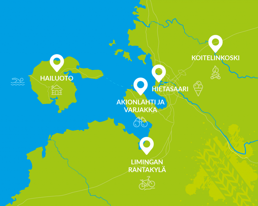 Oulun seudun pyöräilyreitit